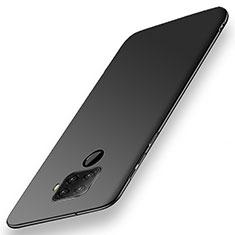 Handyhülle Hülle Kunststoff Schutzhülle Tasche Matt M02 für Huawei Nova 5z Schwarz