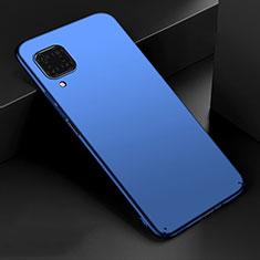 Handyhülle Hülle Kunststoff Schutzhülle Tasche Matt M02 für Huawei P40 Lite Blau