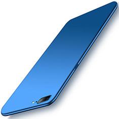 Handyhülle Hülle Kunststoff Schutzhülle Tasche Matt M02 für OnePlus 5 Blau