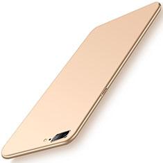 Handyhülle Hülle Kunststoff Schutzhülle Tasche Matt M02 für OnePlus 5 Gold