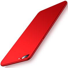 Handyhülle Hülle Kunststoff Schutzhülle Tasche Matt M02 für OnePlus 5 Rot