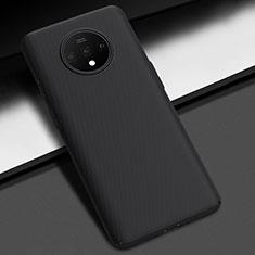 Handyhülle Hülle Kunststoff Schutzhülle Tasche Matt M02 für OnePlus 7T Schwarz