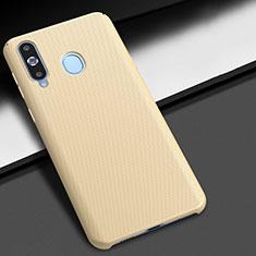 Handyhülle Hülle Kunststoff Schutzhülle Tasche Matt M02 für Samsung Galaxy A8s SM-G8870 Gold