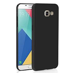 Handyhülle Hülle Kunststoff Schutzhülle Tasche Matt M02 für Samsung Galaxy A9 (2016) A9000 Schwarz