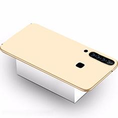 Handyhülle Hülle Kunststoff Schutzhülle Tasche Matt M02 für Samsung Galaxy A9s Gold
