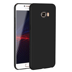 Handyhülle Hülle Kunststoff Schutzhülle Tasche Matt M02 für Samsung Galaxy C5 SM-C5000 Schwarz