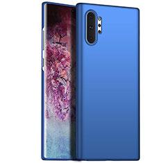 Handyhülle Hülle Kunststoff Schutzhülle Tasche Matt M02 für Samsung Galaxy Note 10 Plus 5G Blau