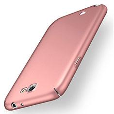 Handyhülle Hülle Kunststoff Schutzhülle Tasche Matt M02 für Samsung Galaxy Note 2 N7100 N7105 Rosegold