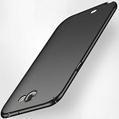 Handyhülle Hülle Kunststoff Schutzhülle Tasche Matt M02 für Samsung Galaxy Note 2 N7100 N7105 Schwarz