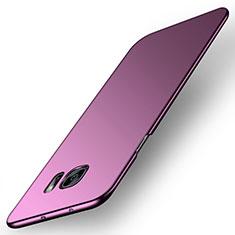Handyhülle Hülle Kunststoff Schutzhülle Tasche Matt M02 für Samsung Galaxy S6 Edge SM-G925 Violett