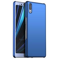 Handyhülle Hülle Kunststoff Schutzhülle Tasche Matt M02 für Sony Xperia L3 Blau