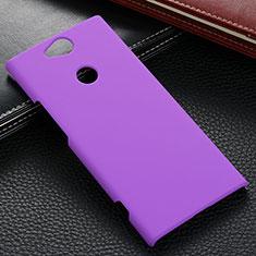 Handyhülle Hülle Kunststoff Schutzhülle Tasche Matt M02 für Sony Xperia XA2 Plus Violett