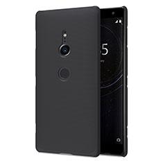 Handyhülle Hülle Kunststoff Schutzhülle Tasche Matt M02 für Sony Xperia XZ2 Schwarz