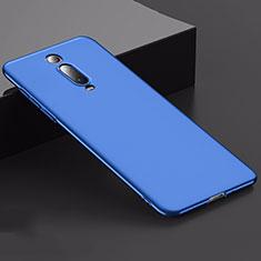 Handyhülle Hülle Kunststoff Schutzhülle Tasche Matt M02 für Xiaomi Mi 9T Blau