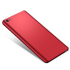 Handyhülle Hülle Kunststoff Schutzhülle Tasche Matt M02 für Xiaomi Mi Note Rot