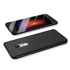 Handyhülle Hülle Kunststoff Schutzhülle Tasche Matt M02 für Xiaomi Redmi Note 4 Standard Edition Schwarz
