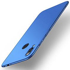 Handyhülle Hülle Kunststoff Schutzhülle Tasche Matt M02 für Xiaomi Redmi Note 7 Blau