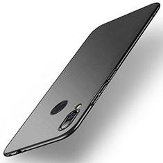 Handyhülle Hülle Kunststoff Schutzhülle Tasche Matt M02 für Xiaomi Redmi Note 7 Schwarz