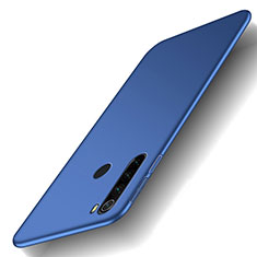 Handyhülle Hülle Kunststoff Schutzhülle Tasche Matt M02 für Xiaomi Redmi Note 8 Blau