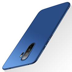 Handyhülle Hülle Kunststoff Schutzhülle Tasche Matt M02 für Xiaomi Redmi Note 8 Pro Blau