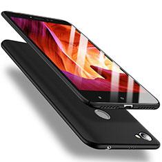 Handyhülle Hülle Kunststoff Schutzhülle Tasche Matt M02 für Xiaomi Redmi Y1 Schwarz