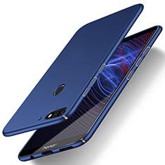 Handyhülle Hülle Kunststoff Schutzhülle Tasche Matt M03 für Huawei Enjoy 8 Blau