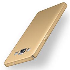 Handyhülle Hülle Kunststoff Schutzhülle Tasche Matt M03 für Samsung Galaxy A5 Duos SM-500F Gold