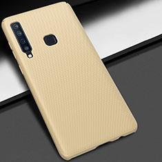 Handyhülle Hülle Kunststoff Schutzhülle Tasche Matt M03 für Samsung Galaxy A9s Gold