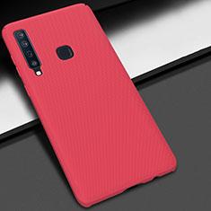Handyhülle Hülle Kunststoff Schutzhülle Tasche Matt M03 für Samsung Galaxy A9s Rot