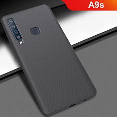 Handyhülle Hülle Kunststoff Schutzhülle Tasche Matt M03 für Samsung Galaxy A9s Schwarz