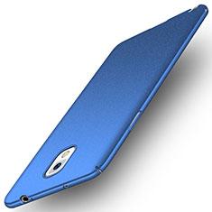 Handyhülle Hülle Kunststoff Schutzhülle Tasche Matt M03 für Samsung Galaxy Note 3 N9000 Blau