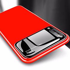 Handyhülle Hülle Kunststoff Schutzhülle Tasche Matt M03 für Xiaomi Mi A3 Rot