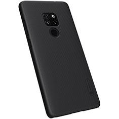 Handyhülle Hülle Kunststoff Schutzhülle Tasche Matt M04 für Huawei Mate 20 Schwarz
