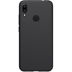 Handyhülle Hülle Kunststoff Schutzhülle Tasche Matt M04 für Xiaomi Redmi Note 7 Pro Schwarz