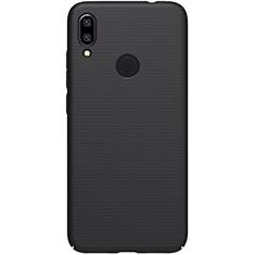 Handyhülle Hülle Kunststoff Schutzhülle Tasche Matt M04 für Xiaomi Redmi Note 7 Schwarz