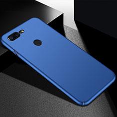 Handyhülle Hülle Kunststoff Schutzhülle Tasche Matt M05 für OnePlus 5T A5010 Blau