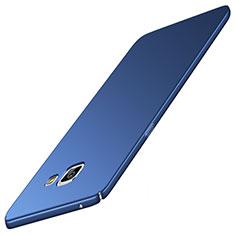 Handyhülle Hülle Kunststoff Schutzhülle Tasche Matt M05 für Samsung Galaxy A9 (2016) A9000 Blau