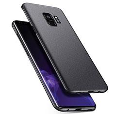 Handyhülle Hülle Kunststoff Schutzhülle Tasche Matt M08 für Samsung Galaxy S9 Grau