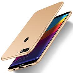 Handyhülle Hülle Kunststoff Schutzhülle Tasche Matt M15 für Huawei Enjoy 8e Gold