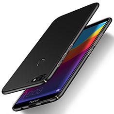 Handyhülle Hülle Kunststoff Schutzhülle Tasche Matt M15 für Huawei Enjoy 8e Schwarz