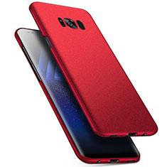 Handyhülle Hülle Kunststoff Schutzhülle Tasche Matt M17 für Samsung Galaxy S8 Plus Rot