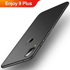 Handyhülle Hülle Kunststoff Schutzhülle Tasche Matt P01 für Huawei Enjoy 9 Plus Schwarz