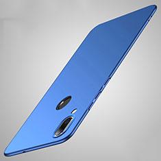 Handyhülle Hülle Kunststoff Schutzhülle Tasche Matt P01 für Huawei Honor 8X Blau