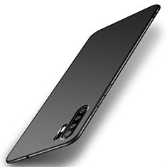 Handyhülle Hülle Kunststoff Schutzhülle Tasche Matt P01 für Huawei P30 Pro Schwarz