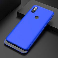Handyhülle Hülle Kunststoff Schutzhülle Tasche Matt P01 für Xiaomi Mi Mix 3 Blau