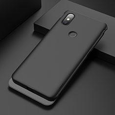 Handyhülle Hülle Kunststoff Schutzhülle Tasche Matt P01 für Xiaomi Mi Mix 3 Schwarz