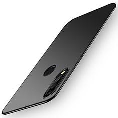 Handyhülle Hülle Kunststoff Schutzhülle Tasche Matt P02 für Huawei P30 Lite Schwarz