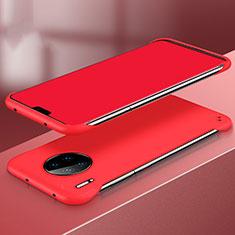 Handyhülle Hülle Kunststoff Schutzhülle Tasche Matt P03 für Huawei Mate 30 Rot