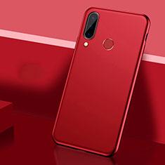 Handyhülle Hülle Kunststoff Schutzhülle Tasche Matt P03 für Huawei P30 Lite Rot