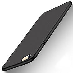 Handyhülle Hülle Kunststoff Schutzhülle Tasche Matt P08 für Apple iPhone 6S Schwarz